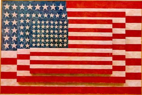 Three American Flags by Jasper Johns