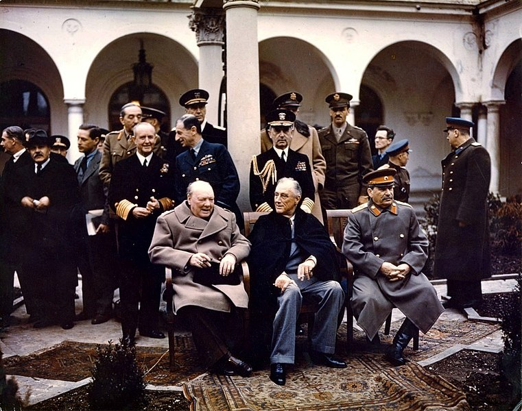 The Big Three - Churchill, Roosevelt, and Stalin