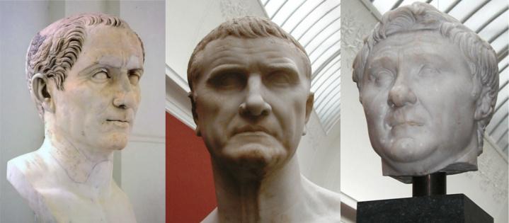 First Triumvirate of Caesar, Crassius and Pompey