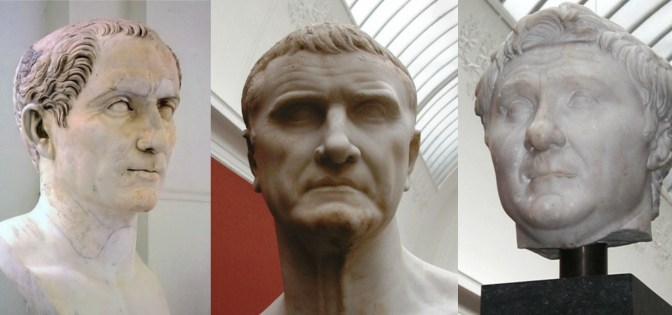 First Triumvirate of Caesar, Crassius and Pompey