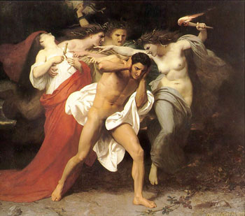 Pursued by the Furies