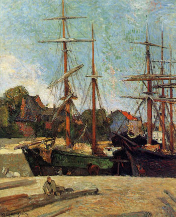 Schooner and Three-Master - (Paul G</a data-recalc-dims=
