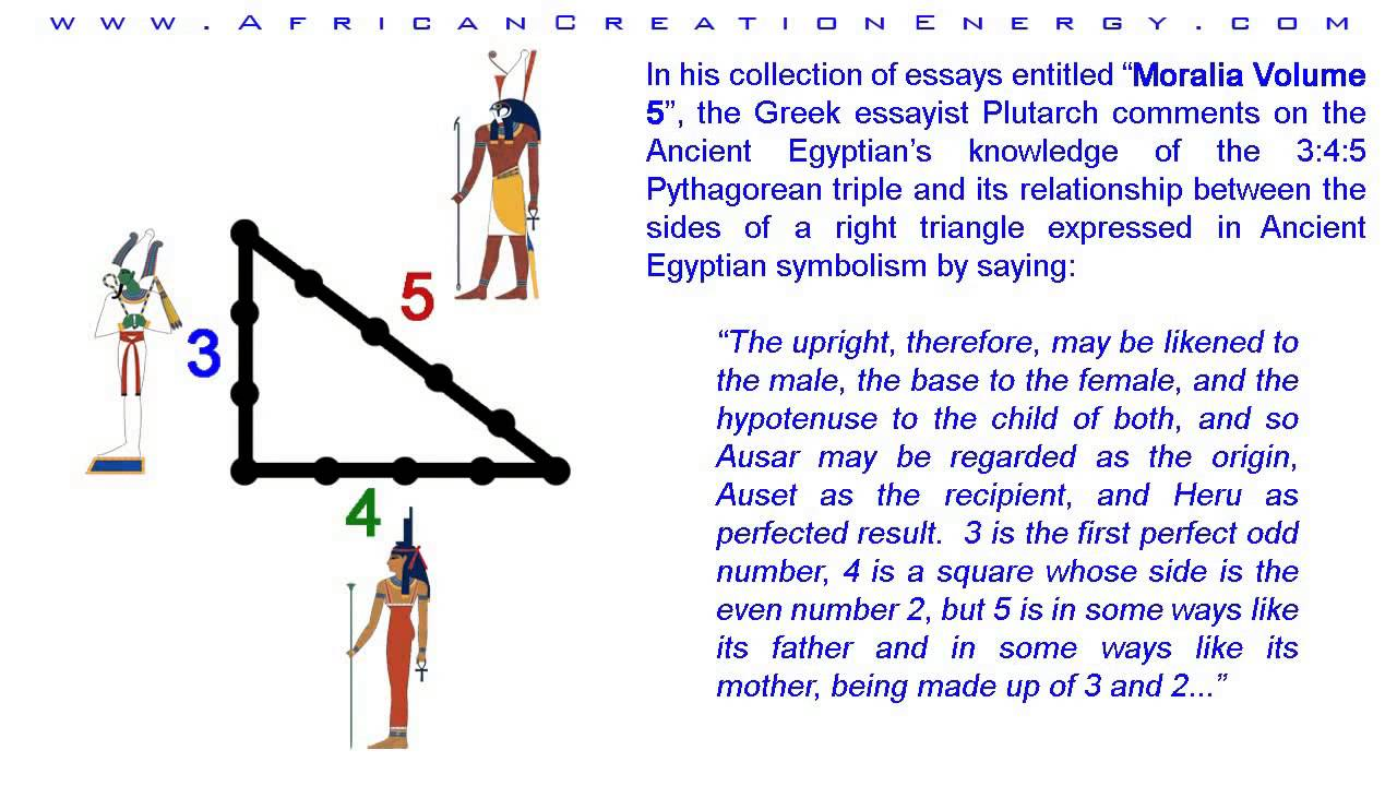 Egyptian Triangle – The Book of Threes