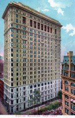 Empire building New York Neoclassical
