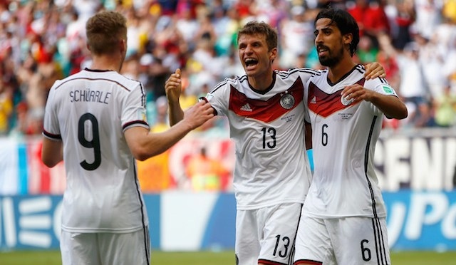 2014 FIFA World Cup: Germany dominates Portugal, 4-0
