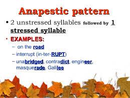 anapestic
