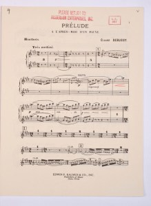 Prelude to a Faun sheet music