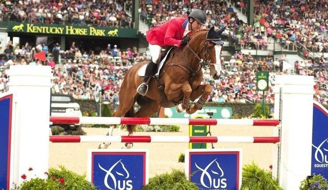 German rider pulls off historic three-peat at Rolex Kentucky