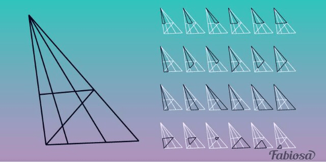 How Many Triangles Do You See? The Answer Will Reveal If You Have High IQ