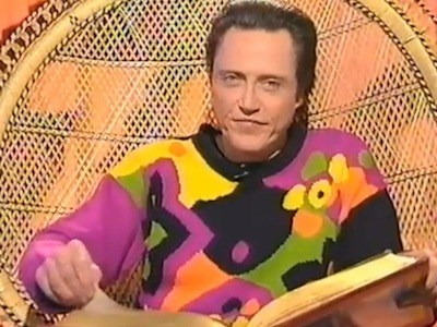 "Christopher Walken Reads ""The Three Little Pigs"" and is out of this world"