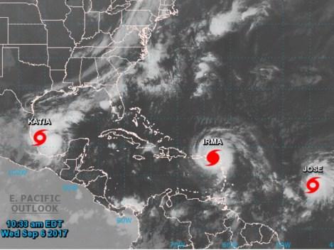 Katia, Irma, Jose