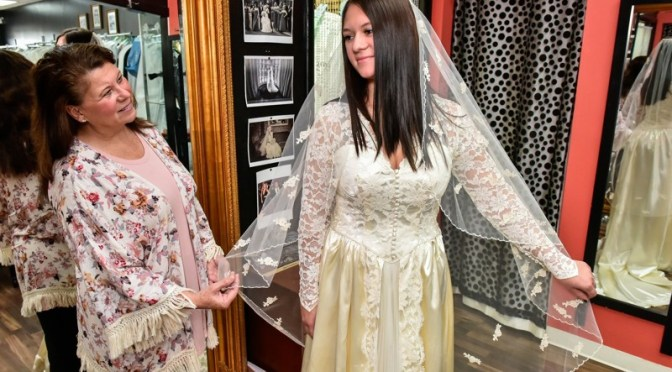 McCrabb: Bride hopes third-generation wedding dress remains lucky
