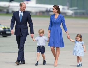 Prince William and Kate Middleton and Children
