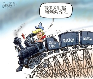 off the rails by Patrick Corrigan