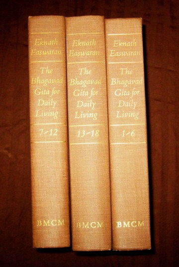 The Bhagavad Gita for Daily Living - THREE VOLUME SET