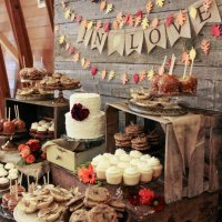 selection of wedding cakes