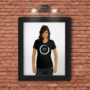 Inspirational Zen T-Shirt With Saying About College