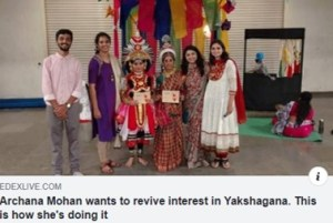 New India Express covers Bookosmia's Yaksha