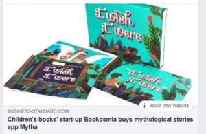 Business Standard Bookosmia acquires Mytha