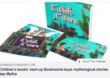 Business Standard reports Bookosmia's acquisition of HK based digital stories app Mytha