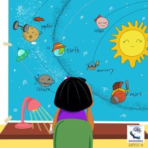 Bookosmia Jaipur childrens story little astronaut