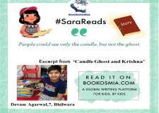 Candle Ghost and Krishna: Read story with Sara