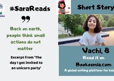The day I got invited to a unicorn party: Read story with Sara