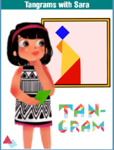 Tangram stories with Sara activities for kids Bookosmia