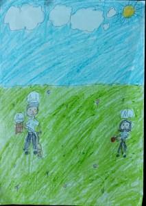 The Cricket Lover Neharika Bookosmia Read stories for kids by kids Bookosmia