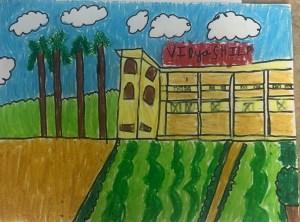 Vidya Shilp Academy Bangalore Artwork by Kyna Bookosmia