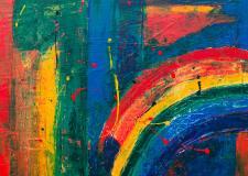 Paint yourself a rainbow– Poem