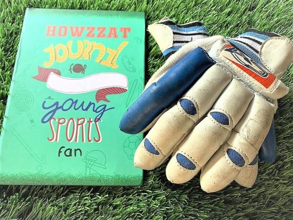 Howzzat writing journal for kids sports fan