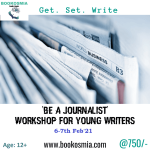 Be-a-Journalist-Workshop for kids Bookosmia