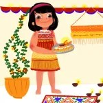 Festivals with Sara Diwali for kids Bookosmia