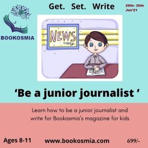 Journalist Writing Workshop for kids