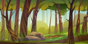 A Mysterious Forest Adventure