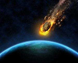 The day the aliens attacked earth