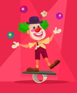 Funny story - The absentminded clown