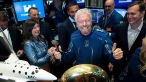 A letter to Sir Richard Branson, CEO Virgin Galactic