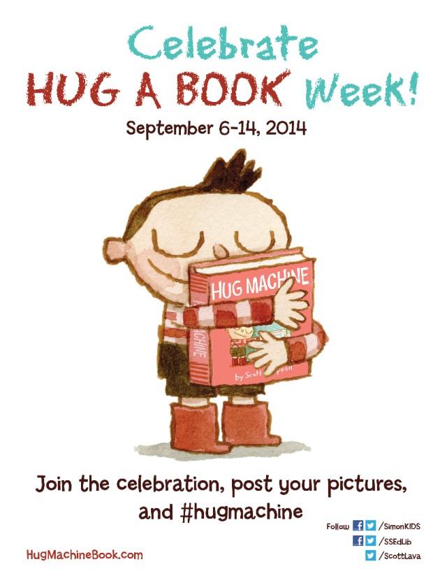 hug a book