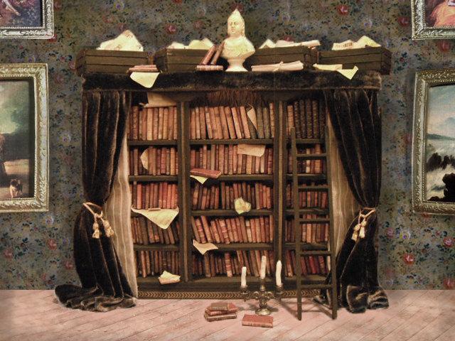 l delaney miniature library