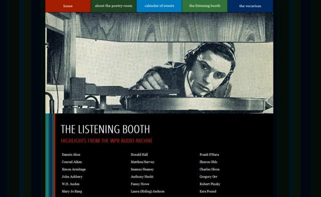 WPR listeningbooth