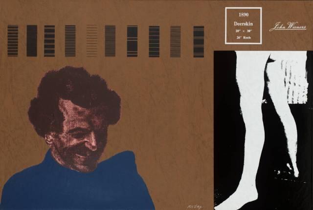 Deerskin (John Wieners) 1966-70 by R.B. Kitaj 1932-2007