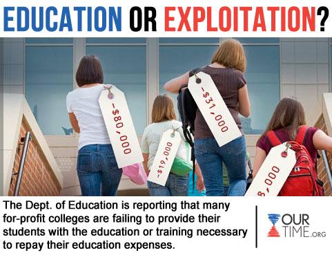 education or exploitation