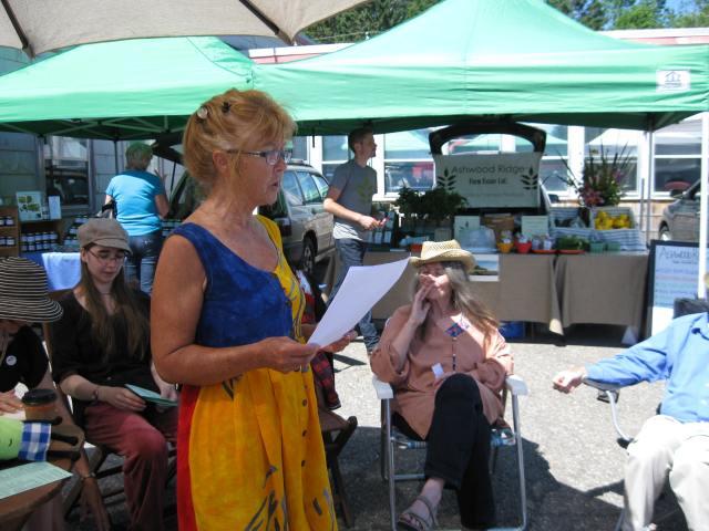 farmers market poetry a