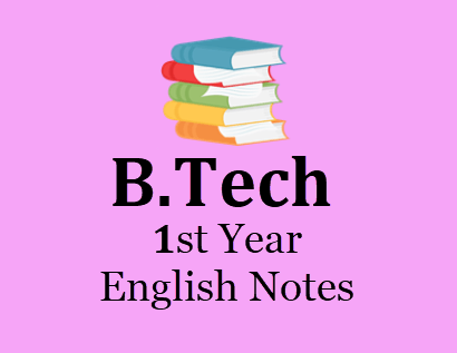 1ST Year Engineering English Notes BOOK PDF 2020 – Download 1ST Year Engineering English Study Materials Books, Notes, Lecture notes