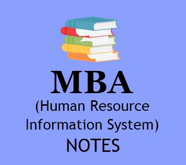 HRIS MBA Human Resource Information System SEM-4 Study Materials BOOK PDF Format | Download PDF HRIS MBA Human Resource Information System 4th SEM Study Materials