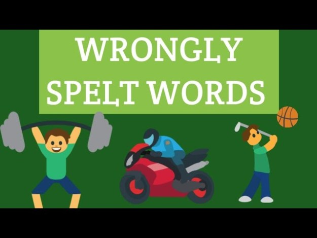 Wrongly Spelt Words Exercise Notes 2021 Download Study Materials BOOK PDF