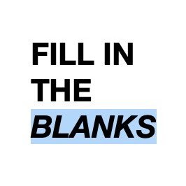 Fill in the Blanks Exercise Notes 2021 Download Study Materials BOOK PDF
