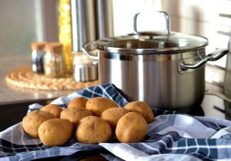 Cooking Pot & Potatoes Free Use